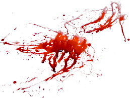 blood splatter twenty two isolated stock photo by nobacks com