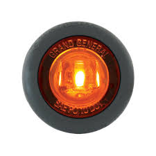 dual function 1 25 clearance marker turn led light with grommet
