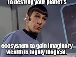 Spock Memes - spock says idle no more trekkerscrapbook