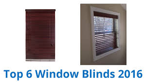 6 best window blinds 2016 youtube
