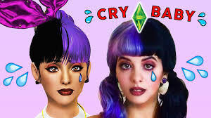 hair color to download for sims 3 melanie martinez the sims 3 create a sim youtube