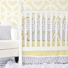Jojo Baby Bedding Gray And Yellow Crib Bedding