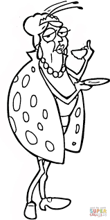 old ladybug coloring page free printable coloring pages