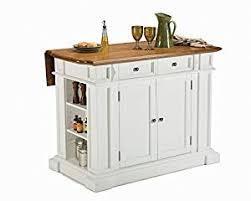 homestyle kitchen island amazon com home styles 5002 94 kitchen island white and distressed