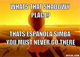 Lion King Shadowy Place Meme Generator - lion king meme generator shadowy place image memes at relatably com