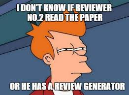 Not Me Meme - how not to be reviewer 2 ashley ml brown