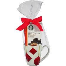 hot cocoa gift set starbucks hot cocoa mix with mug gift set walmart