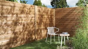 cloture de jardin pas cher cloture bois pas cher brise vue metallique jardin exoteck