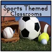 Sports Decorations Sports Themed Classrooms Clutter Free Classroom