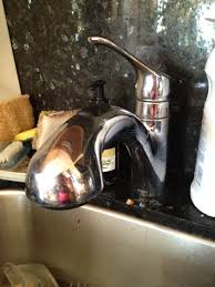 can i connect a portable dishwasher a moen faucet extensa