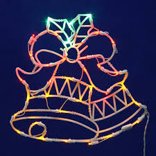 lighted outdoor decorations lighted wall and window decorations