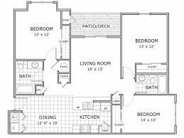 three bedroom flat floor plan apartment springfield mo marion park