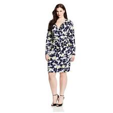 dhstyles plus size romantic floral print sash party dress for