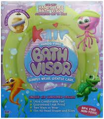amazon com kair air cushioned bath visor green baby