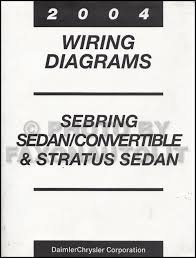 2004 mopar stratus sebring sedan covertible wiring diagram manual