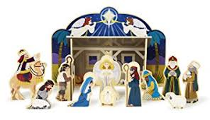 wooden nativity set doug classic wooden christmas nativity set