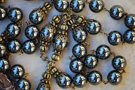 hematite rosary hematite rosary 8mm seraphym designs