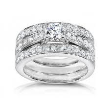 wedding ring trio sets beautiful wedding trio ring sets with engagement rings bridal sets