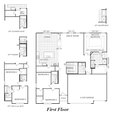 house plans with three car garage new homes st charles mo canterbury ranch house 3 car garage