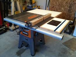 ridgid 13 10 in professional table saw ridgid r4512 table saw coupon office depot coupon includes