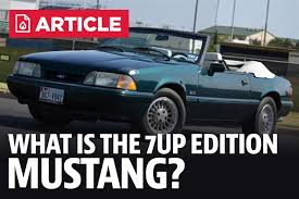 7 up edition mustang what is the 7 up edition mustang lmr com