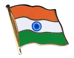 Flag If India India Flag Pin Badge 1 X 1 Inch Best Buy Flags Co Uk