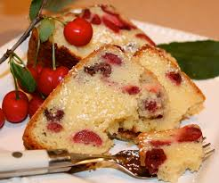 my buttery sour cream sour cherry pound cake kitchen encounters