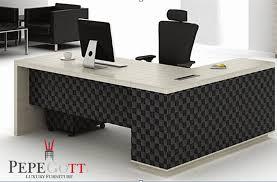 innovation idea white executive office desk modern decoration