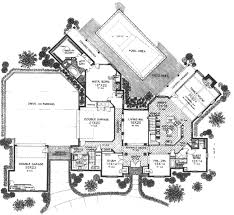 garage layouts with large parking pad in the back not the floor