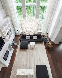 Large Living Room Furniture Interior Design Ideas 17 Modern Living Rooms As Seen From Above
