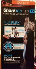 shark ionflex 2x duoclean cordless ultra light vacuum if252 shark ionflex 2x duoclean cordless ultralight mulitflex vacuum if252