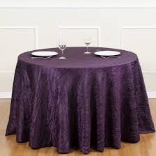 eggplant colored table linens 90 x 132 in rectangular polyester tablecloth purple