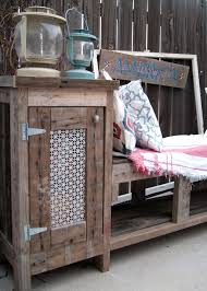 Outdoor Storage Bench Diy by Outdoor Storage Bench Using A Kreg Jig Averie Lane Outdoor