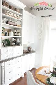 styling shelves with farmhouse decor the rustic boxwood