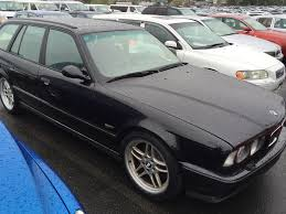 bmw car auctions bmw m5 wagon e34 japanese used car auctions blue line