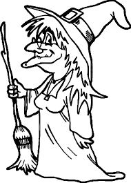 any witch coloring page wecoloringpage