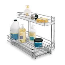 buy under kitchen cabinet storage organizers from bed bath u0026 beyond