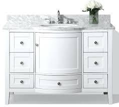 white 48 bathroom vanity white 48 inch bath vanity 48 white
