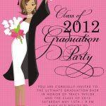 create own graduation party invitations templates free ideas