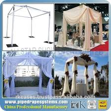 Indian Wedding Decorations Wholesale Wholesale Pipe Drape Adjustable Aluminum Backdrops Indian Wedding