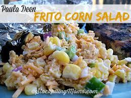 paula deen frito corn salad