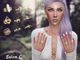 118 best female accessories images on pinterest sims cc