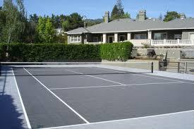 tennis court surfacing tennis courts exhibit sports courts