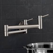 Pot Filler Kitchen Faucet Blanco 441194 Cantata Polished Chrome Pot Filler Kitchen Faucets