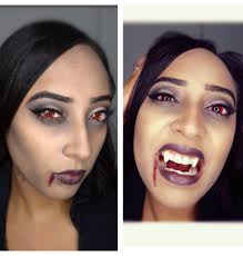 halloween vampire makeup hair u0026 costume youtube