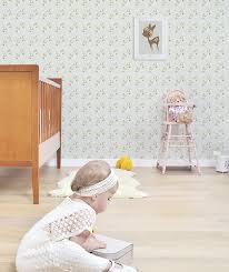 papier peint chambre gar n lé de papier peint vintage fleurs lilipinso pour chambre d enfant