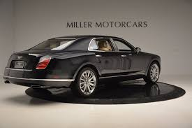bentley mulsanne black 2016 2016 bentley mulsanne stock 7121 for sale near greenwich ct