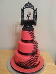 nightmare before cake baking cake