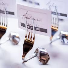 Vintage Table Number Holders Twisted Fork Vintage Inspired Stationery Holders Set Of 8