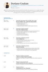 Resume Examples For Summer Jobs by Office Clerk Resume Samples Visualcv Resume Samples Database